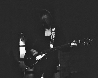 Black and White Photography. Music Photo. Concert Photo. Musician B&W Photo. Digital Giclee Black and White Photo. *Free Shipping.