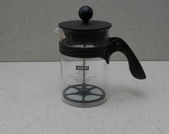 Vintage bodum cappuccino milk frother , latte milk frother ,hand milk frother , Germany 1980s 90s.
