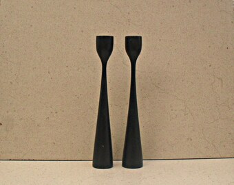 Danish modern candle sticks