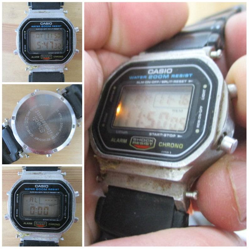 21830713b Vintage Casio G-Shock DW-5600 watch module 901Japan | Etsy
