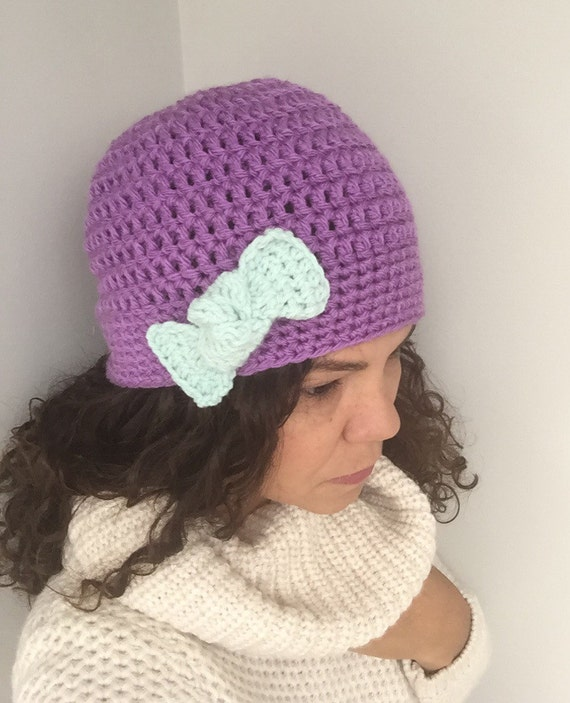 Matching mom and baby hats-Lilac Mint bow hat-Mama and me  83cf9c25591