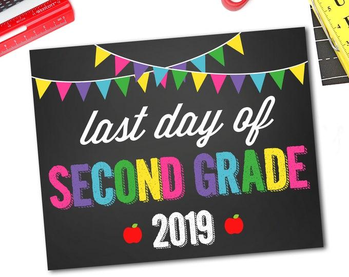 Last Day Of School Sign, Last Day Of Preschool Sign, 1st Day Of School Sign, 1st Day Of Preschool Sign, DIY Printable