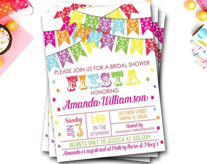 Fiesta Bridal Shower Invitation, Fiesta Invitation, Bridal Shower Invitation, Fiesta Bridal Shower, Fiesta Invite, Fiesta Wedding