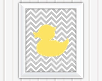 Rubber Duck Wall Art, Bathroom Wall Art,Printable Wall Art,Instant Download,Childrens Wall Art,Kids Wall Art, Nursery Wall Art, DIY Wall Art