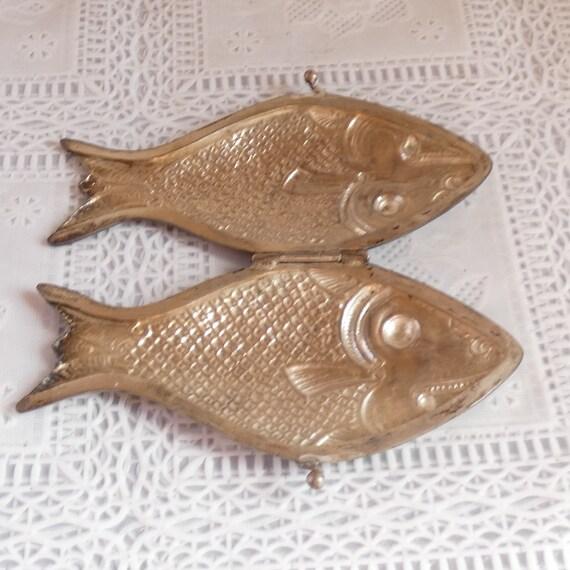 Antique Vintage Sterling Silver Coy Carp Koi Fish… - image 6