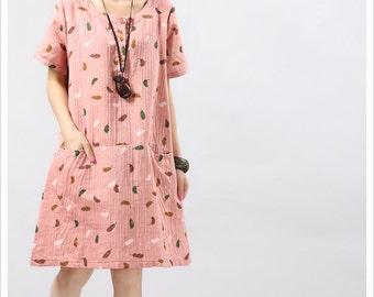 Summer Dresses / Fashion dress / Long dress / printed dress / Flower dress