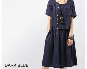 Maxiskit / Dresses / Fashion dress / Long dress / tunic dress / Short sleeve dress