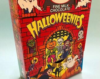 Halloween candy empty counter box, 1992 - New Zealand chocolates