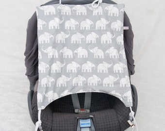 """Awning """"elephants"""" for baby seat"""