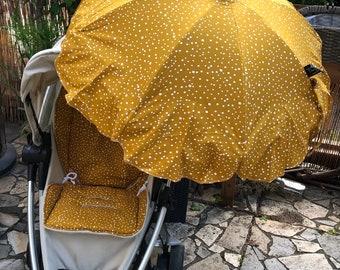 Stroller / Buggy PARASOL dots