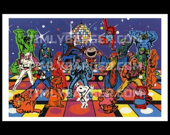 Colorforms Gremlins Rub N /'play transferts new old stock Classic 80 S Toys