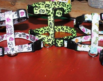 1/2 inch wide Harnesses for Small Animals (Dogs, Cats, Ferretts, Guinea Pigs, Micro Pigs)