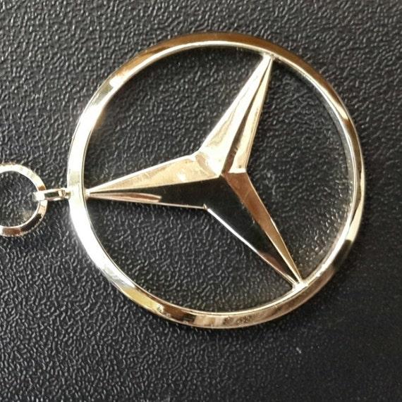 Mercedes Keyring porte-clés 1 1 2    pouces 35 mm   Etsy 44439c1272f