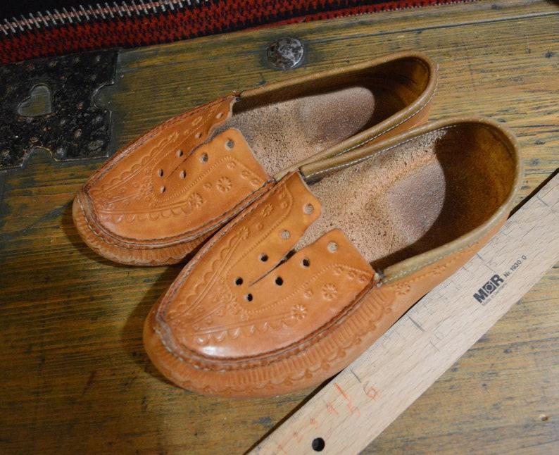 European size 31 shoes Traditional finnish pieksu 18 x 7 cm. Kids boots