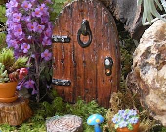 Handmade Fairy Door, Fairy Door Gift Set, Fairy Door Kit, Fairy Garden Door, Fairy Garden Decor, Fairy Door with Key, Valentines Day Gift