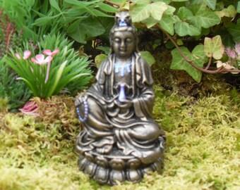 Quan Yin, Kwan Yin Figurine,Goddess of Compassion, Kuan Yin, Kwan Yin, Quan Yin Goddess Statue, Healing Energy Kwan Yin