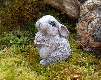 Rabbit Rabbit Statue Garden Rabbit Statue Rabbit Decor | Etsy