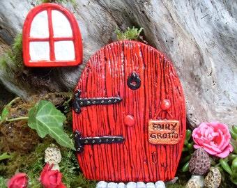 Fairy Door, Fairy Door Set, Fairy Garden Door, Valentine Fairy Garden, Fairy Garden Kit, Fairy Gardens, Fairy Décor, Gardening Gift