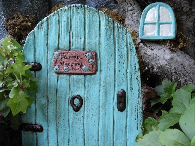 Fairy Door, Large Fairy Door Set, Fairy Garden Door, Fairy Garden  Accessories, Fairy Garden Kit, Fairy Gardens, Fairy Décor, Gardening Gift