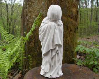 French Pleurant Statue, Mourner Statue, Gothic Décor