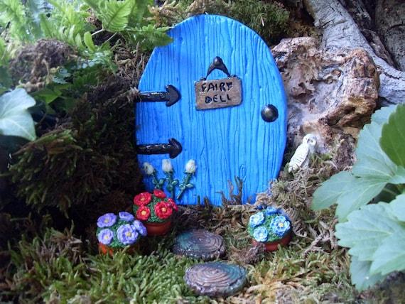 Fairy Door, Fairy Door Set, Fairy Garden Kit, Fairy Door Kit, Fairy  Gardens, Outdoor Fairy Gardens, Gardening Gift, Fantasy Decor