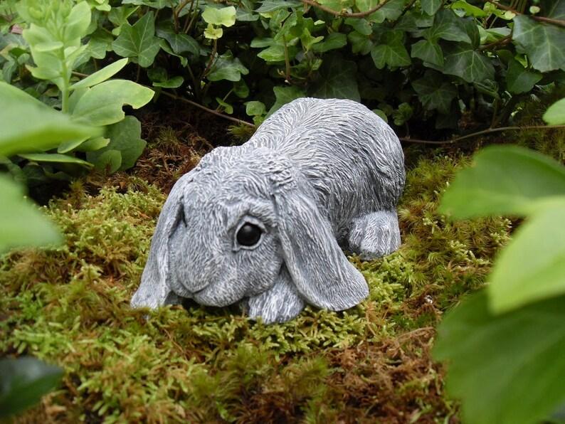 Rabbit Rabbit Statue Lop Eared Rabbit Bunny Statue Rabbit Memorial Statue Hare Statue