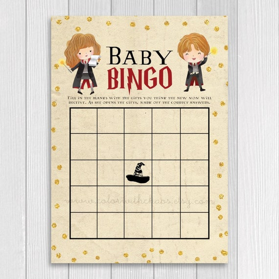 Harry Potter Baby Shower Harry Potter Baby Shower Game