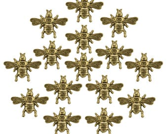 Large Bumble Bee 15pc set Pushpin ** FREE SHIPPING and Usually Ships the Same Day **