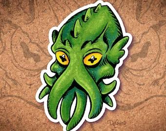Cute Cthulhu Sticker
