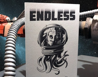 ENDLESS: A Tale of Space Anxiety, Indie Sci-Fi Comic