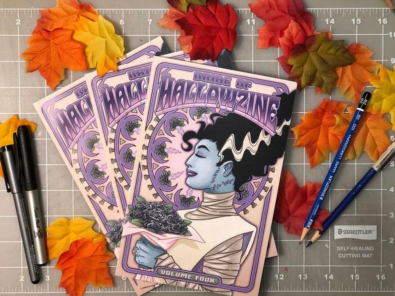 HALLOWZINE 4  Northside Comic Artists Horror Comic Anthology image 1
