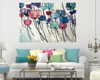 Modern acrylic paint: Sweet spring 1