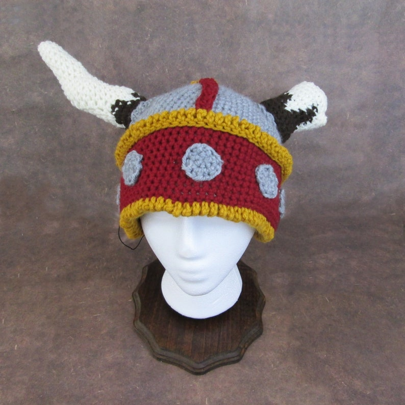 Crochet Viking Hat image 0