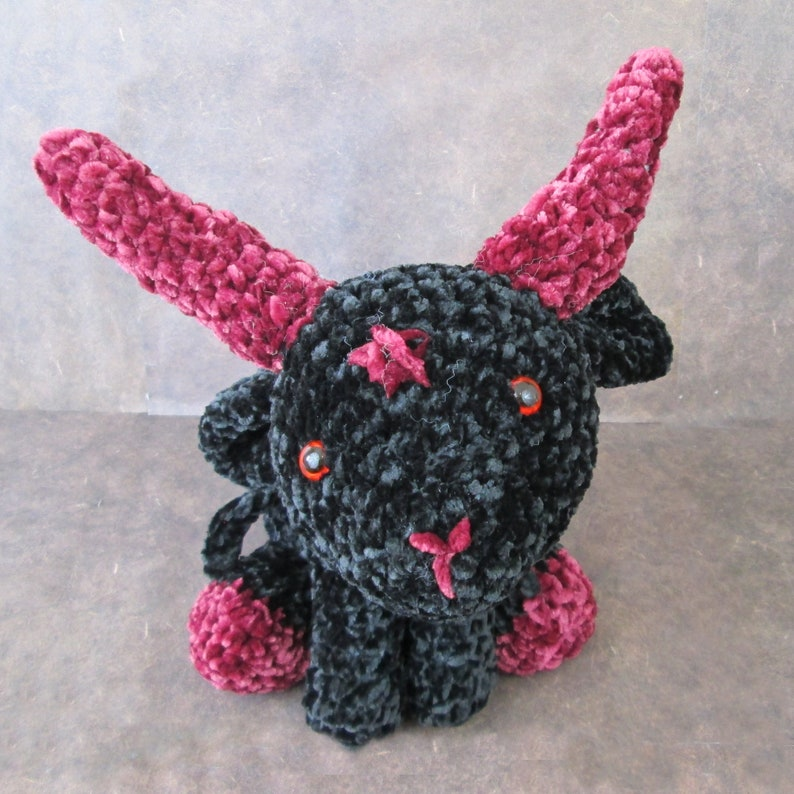 Crochet Baphomet Toy Red