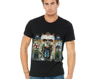 5d9edf6f7ca Michael Jackson Dangerous Album Cover Unisex Short Sleeve Jersey Tee 3001