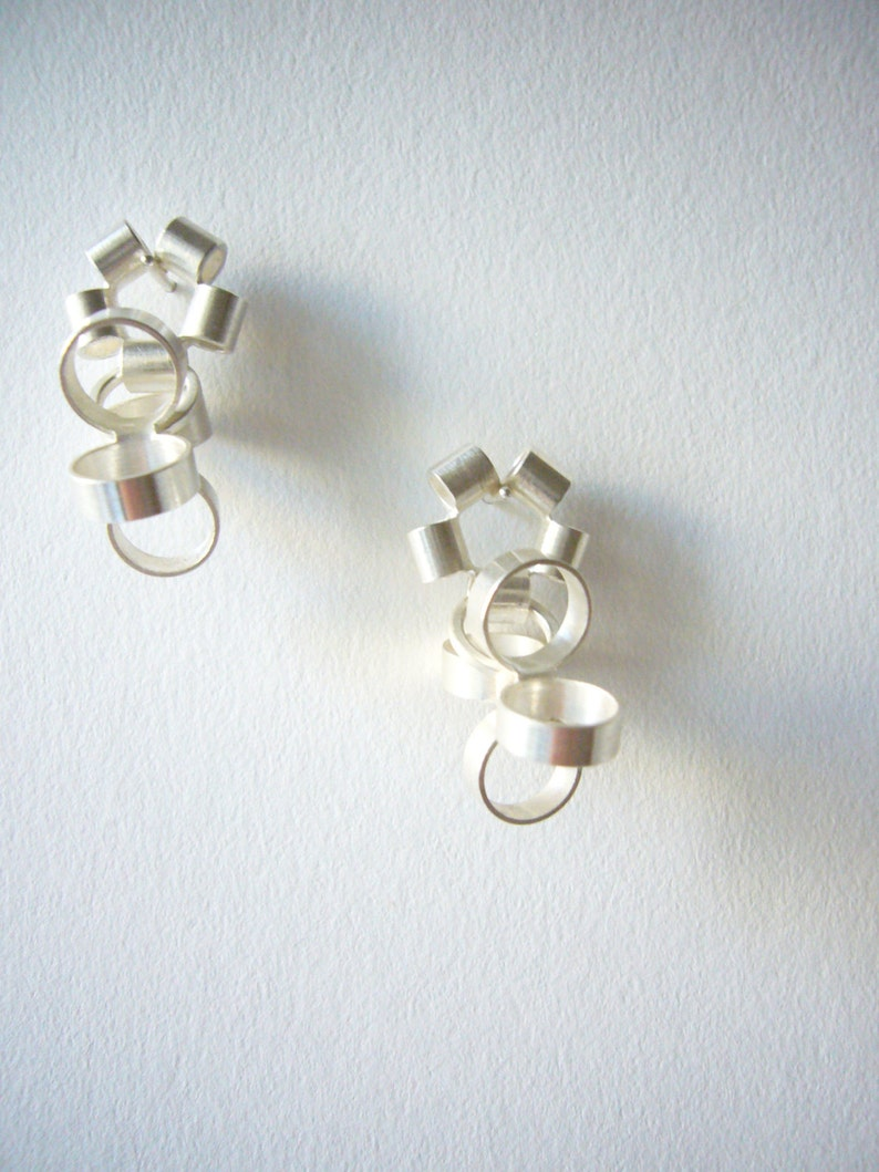2-piece stud earrings STARS & STERNCHEN image 0
