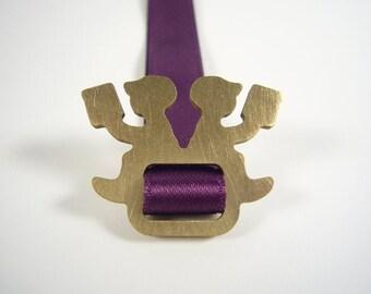 violet bookmark - LESEPAUSE