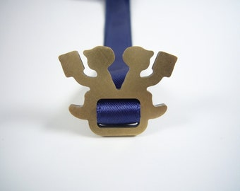 dark blue bookmark - LESEPAUSE