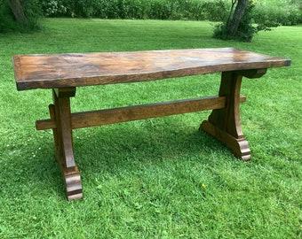 Oak and Elm Tavern table.