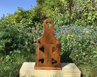 Folk Art Love Token Candlebox