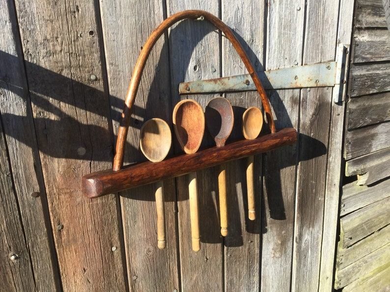 Country spoon rack made from Hazel image 0