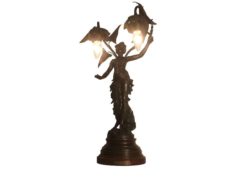 1ac428ac86b Auguste Moreau Fruits D  Automne Art Nouveau Bronze Maiden