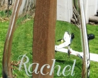Personalized Sand Ceremony Vase Add a vase to include children or parents