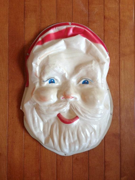 Items Similar To Vintage Santa Light Santa Face Light