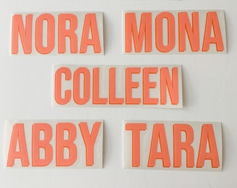 Double Layer Vinyl Name/Word Monogram Decal Sticker | Shadow Monogram | Yeti Cell Phone Car Laptop Monogram | FREE SHIPPING!