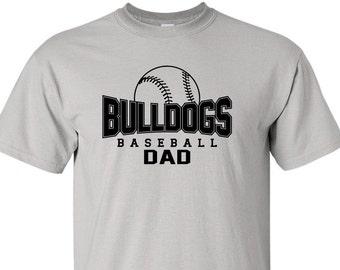 BASEBALL SHIRT. Baseball Tshirt. Baseball Dad Shirt. Baseball Tee. Proud Baseball Dad Shirt. Little League Shirt Tball Shirt Softball Shirt