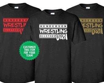 3352cb0b997c2 Wrestling Shirt. Wrestling Tee. Wrestling Team Shirt. Wrestler Shirt.  Sports Shirt. Custom Sports Shirt. Custom Shirt.