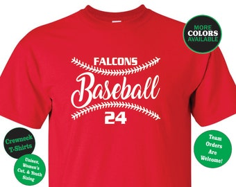 BASEBALL SHIRT. Baseball Tshirt. Baseball Tee. Little League Shirt. Tball Shirt. Softball Shirt. Sports Shirt. Sports Tshirt Custom Baseball