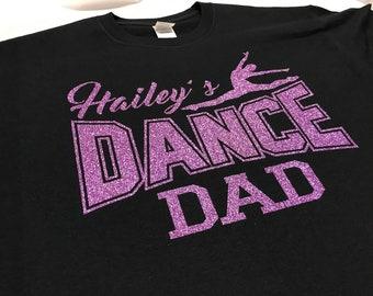 a57a986729 Dance Daddy Shirt. Dance Shirt. Dancer Shirt. Team Dance Shirt. Dance Team  Shirt. Custom Dance Shirt. Dance Squad Shirt.