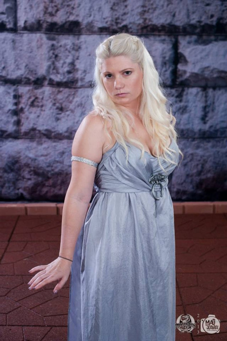Game of Thrones Daenerys Targaryen inspired Wedding Dress custom made costume